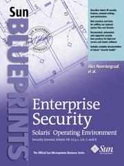 Cover of: Enterprise security | Alex Noordergraaf
