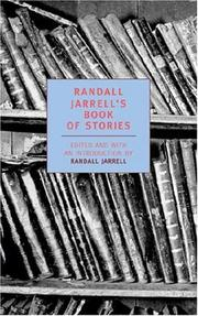 Cover of: Randall Jarrell's book of stories