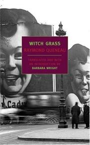 Cover of: Witch grass | Raymond Queneau