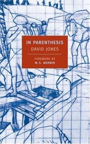 Cover of: In parenthesis