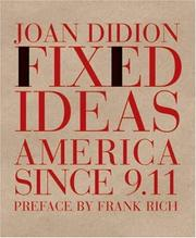 Cover of: Fixed ideas