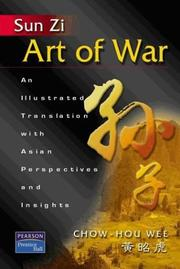 Cover of: Sun Zi art of war: an illustrated translation with Asian perspectives and insights