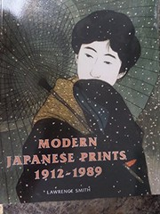 Cover of: Modern Japanese prints 1912-1989