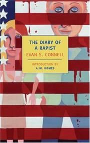 Cover of: The diary of a rapist | Evan S. Connell