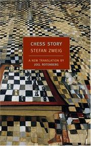 Cover of: Chess story