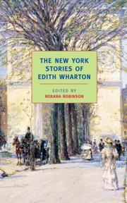 Cover of: The New York Stories of Edith Wharton