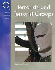Cover of: Lucent Terrorism Library - Terrorists and Terrorist Groups (Lucent Terrorism Library)