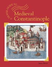 Cover of: Medieval Constantinople (A Travel Guide To...) | James Barter