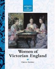 Cover of: Women in History - Women of Victorian England (Women in History)