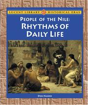 Cover of: Lucent Library of Historical Eras - People of the Nile: Rhythms of Daily Life (Lucent Library of Historical Eras)