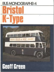 Cover of: Bristol K-type | Geoff Green