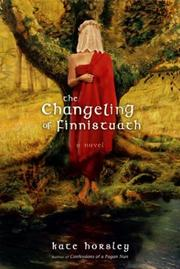 Cover of: The changeling of Finnistuath