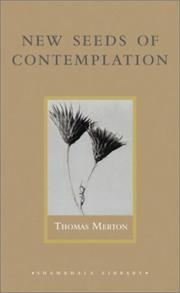 Cover of: New seeds of contemplation