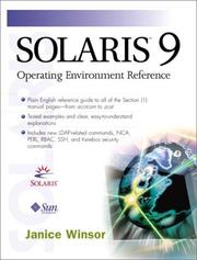 Cover of: Solaris 9 Operating Environment Reference
