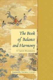 Cover of: The book of balance and harmony by
