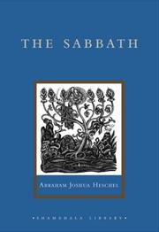 Cover of: The Sabbath