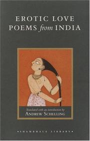Cover of: Erotic Love Poems from India