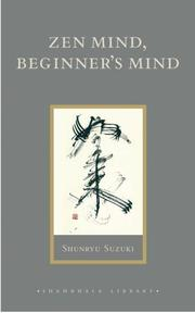 Cover of: Zen Mind, Beginner's Mind