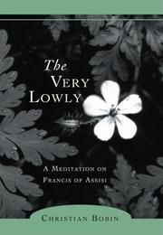 Cover of: The very lowly