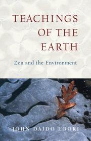 Cover of: Teachings of the Earth: Zen and the Environment (Dharma Communications)