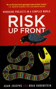Cover of: Risk up front | Adam Josephs