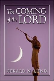 Cover of: The Coming of the Lord