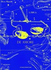 Cover of: De amore