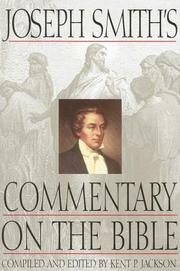 Cover of: Joseph Smith's Commentary on the Bible