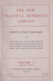 Cover of: The new practical reference library | Sylvester, Charles Herbert,