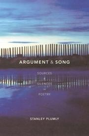 Cover of: Argument & Song