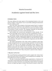 Cover of: Academics against Israel and the Jews |