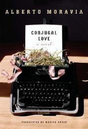 Cover of: Conjugal love