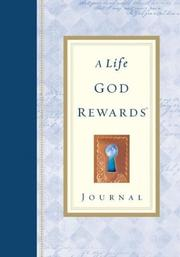 Cover of: A Life God Rewards Journal