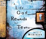 Cover of: A Life God Rewards for Teens Audio CD