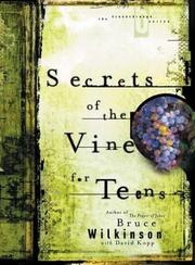 Cover of: Secrets of the Vine for Teens Audio CD