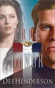 Cover of: True Honor