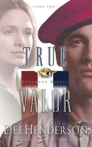 Cover of: True Valor