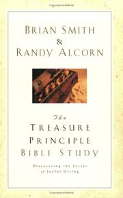 Cover of: The treasure principle bible study