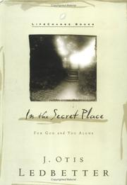 Cover of: In the Secret Place