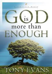 Cover of: God Is More than Enough (LifeChange Books)