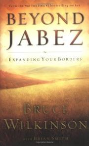 Cover of: Beyond Jabez