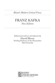 Cover of: Franz Kafka