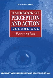 Cover of: Handbook of perception and action |
