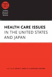 Cover of: Health care issues in the United States and Japan |