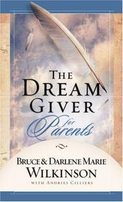 Cover of: The Dream Giver for Parents