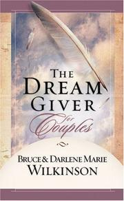 Cover of: The Dream Giver for Couples (The Dream Giver)