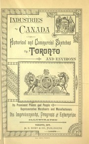 Cover of: Industries of Canada |
