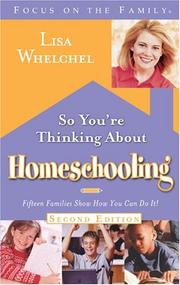 Cover of: So You're Thinking About Homeschooling: