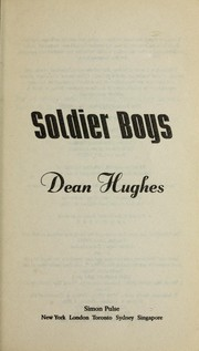 Cover of: Soldier Boys a Novel |