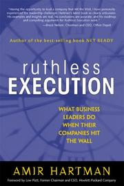 Cover of: Ruthless Execution | Amir Hartman